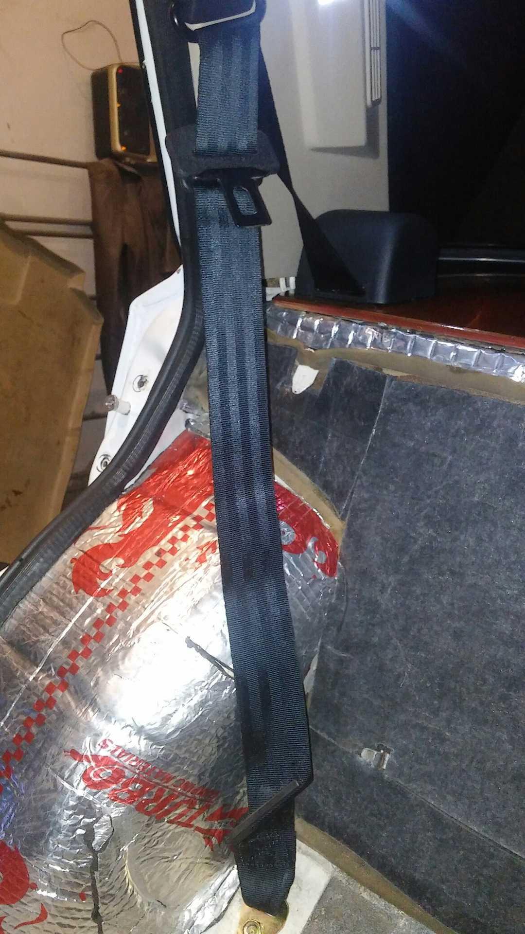 Замена ремня безопасности ваз 2109