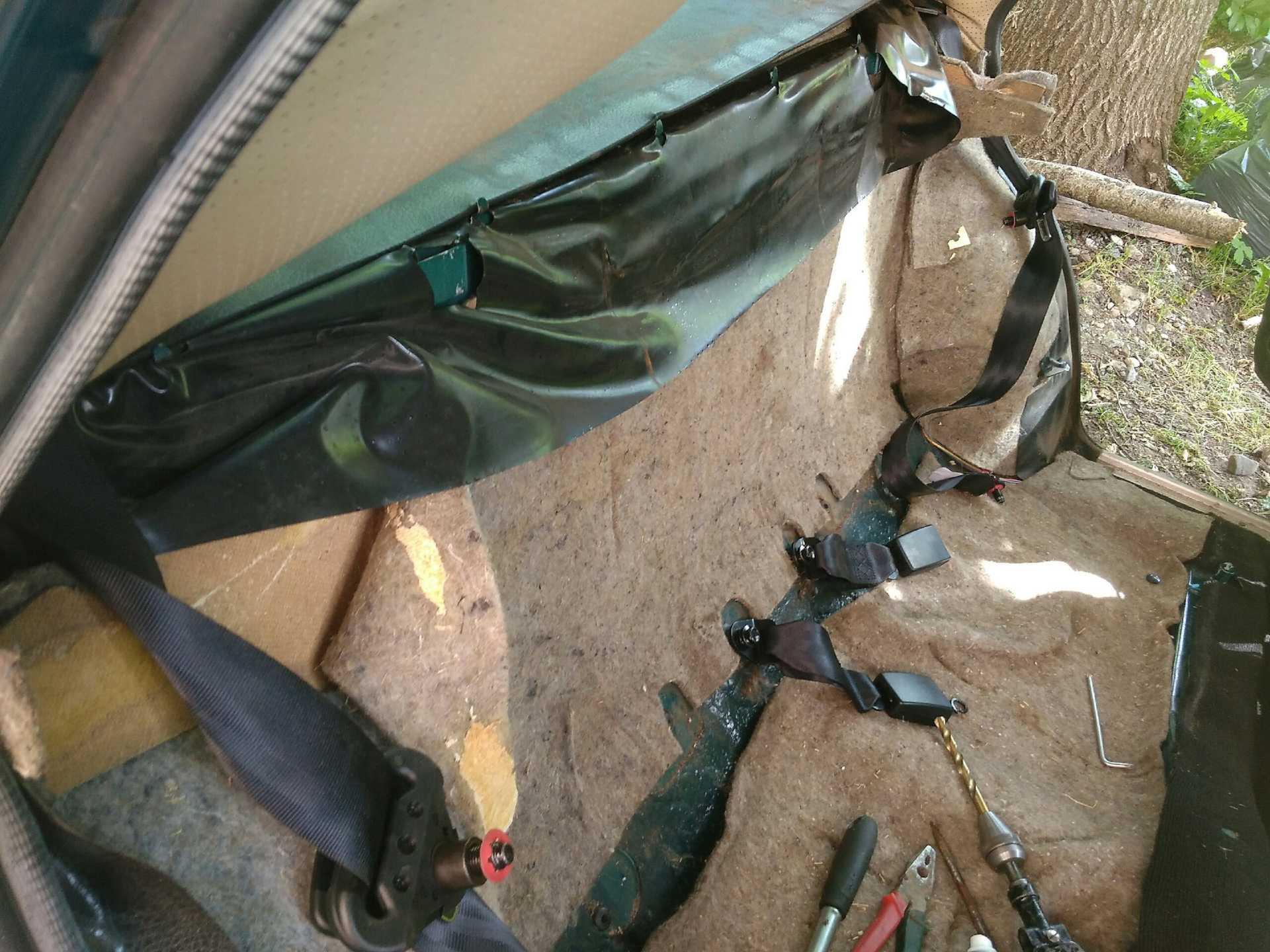Крепление задних ремней безопасности ваз 2107 - все о лада гранта