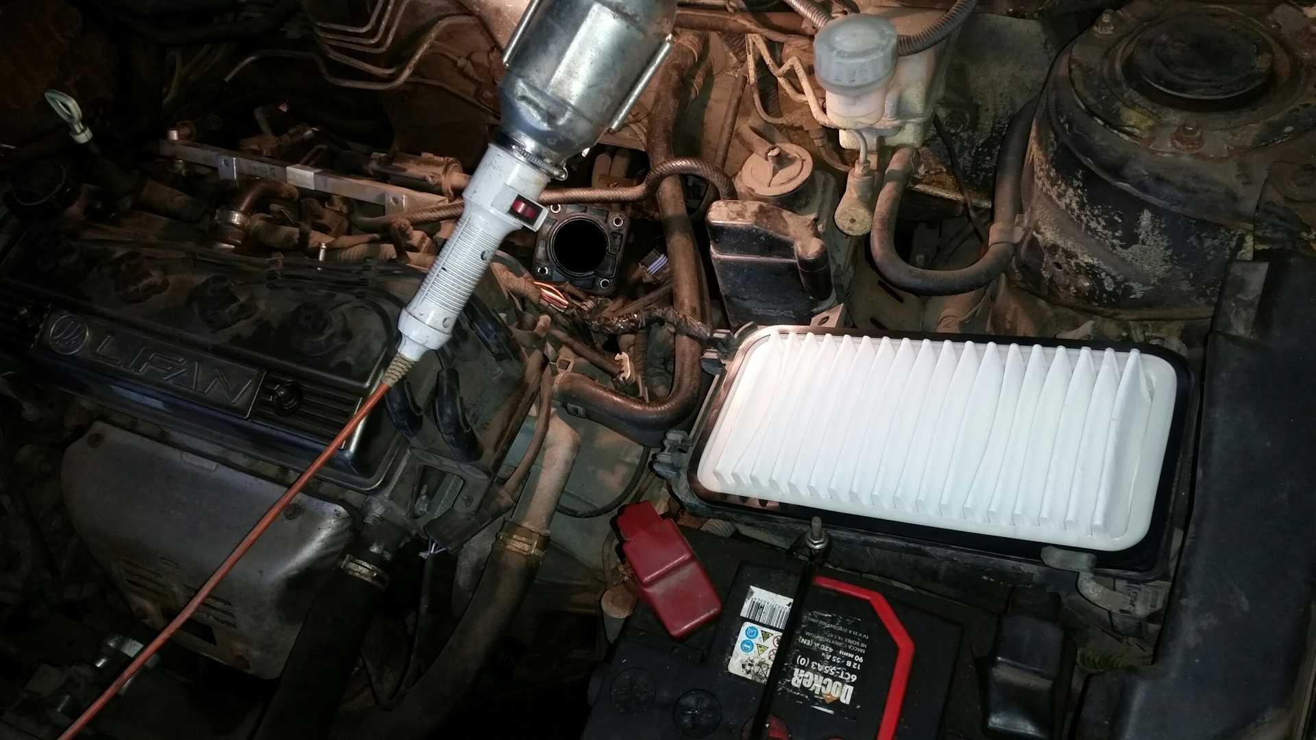 Варианты тюнинга двигателя лифан солано. рубрика о ремонте лифан солано. чип-тюнинг и отключение катализатора