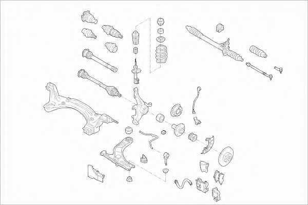 Опоный подшипник на фольксваген поло: замена - автоэксперт