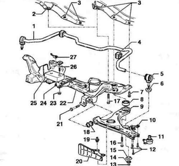 Передняя и задняя подвески в фольксваген поло седан (vw polo sedan): обзор, замена, видео