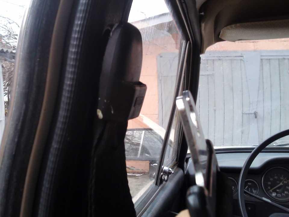 Как установить на ваз 2106 задние инерционные ремни безопасности на
