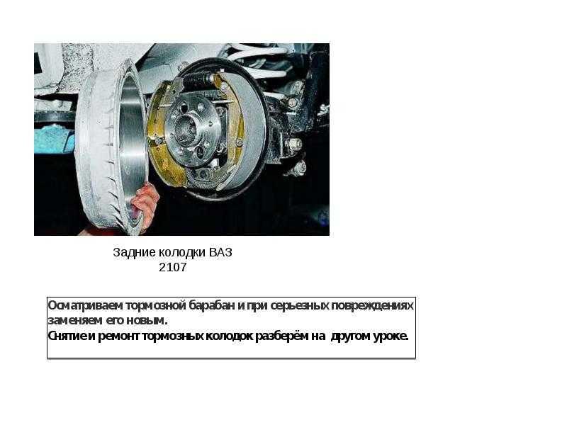 Передние тормоза на ваз 2107