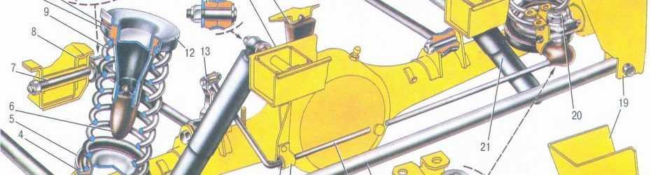 Крепление балки на ваз 2107