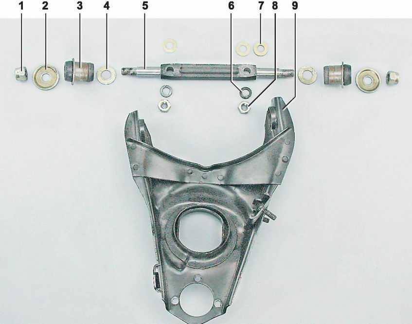 Про заднюю подвеску ваз 2107: устройство, диагностика, ремонт