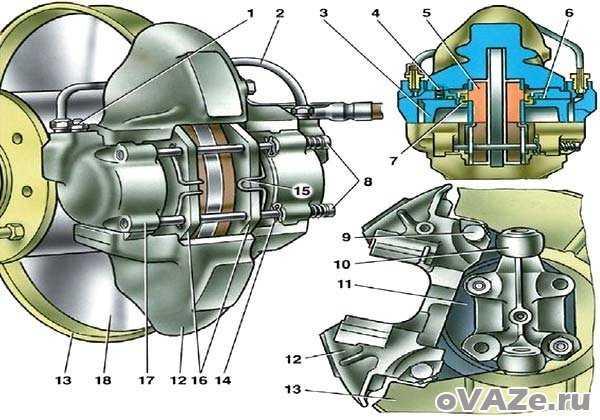 Неисправности и прокачка тормозной системы ваз 2107